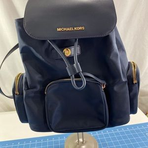 Michael Kors Abbey Lg Cargo Backpack.